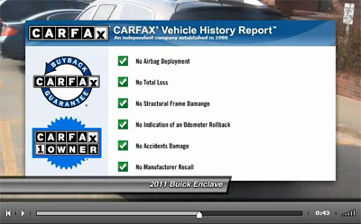 Carfax Screenshot